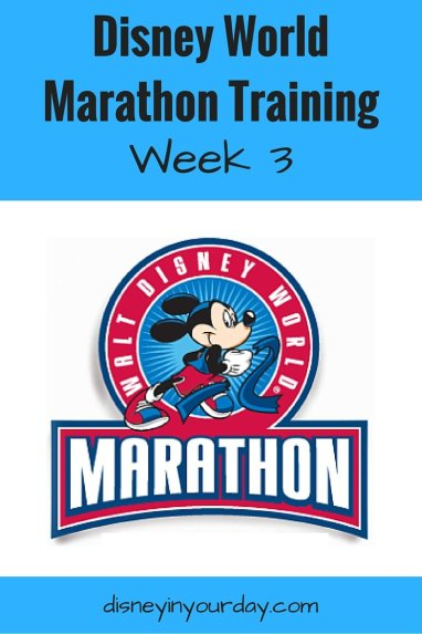 Disney World Marathon Training
