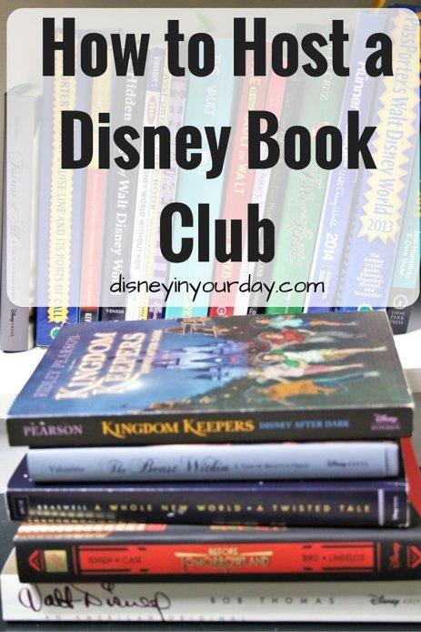 How to Host a Disney Book Club