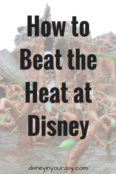 beat the heat at disney - Disney in your Day