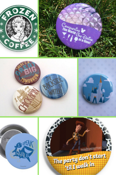 Unique gifts for Disney lovers - Disney buttons - Disney in your Day