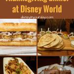 Thanksgiving Dinner at Disney World