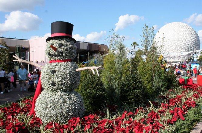 Epcot at the Holidays