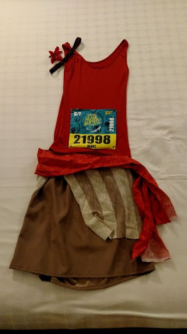 Moana running costume - Disney in your Day