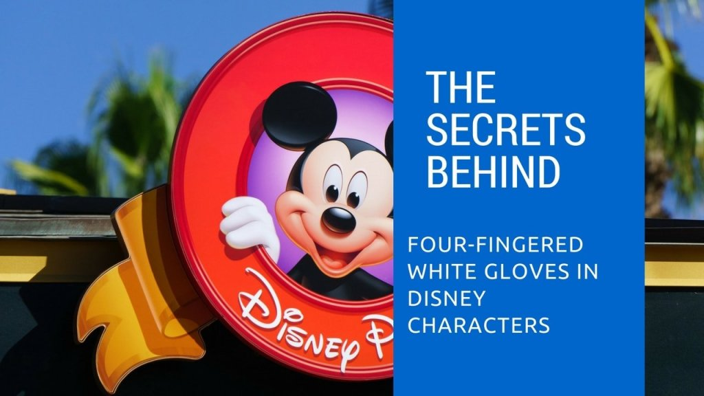 four-fingered white gloves - Disney in your Day