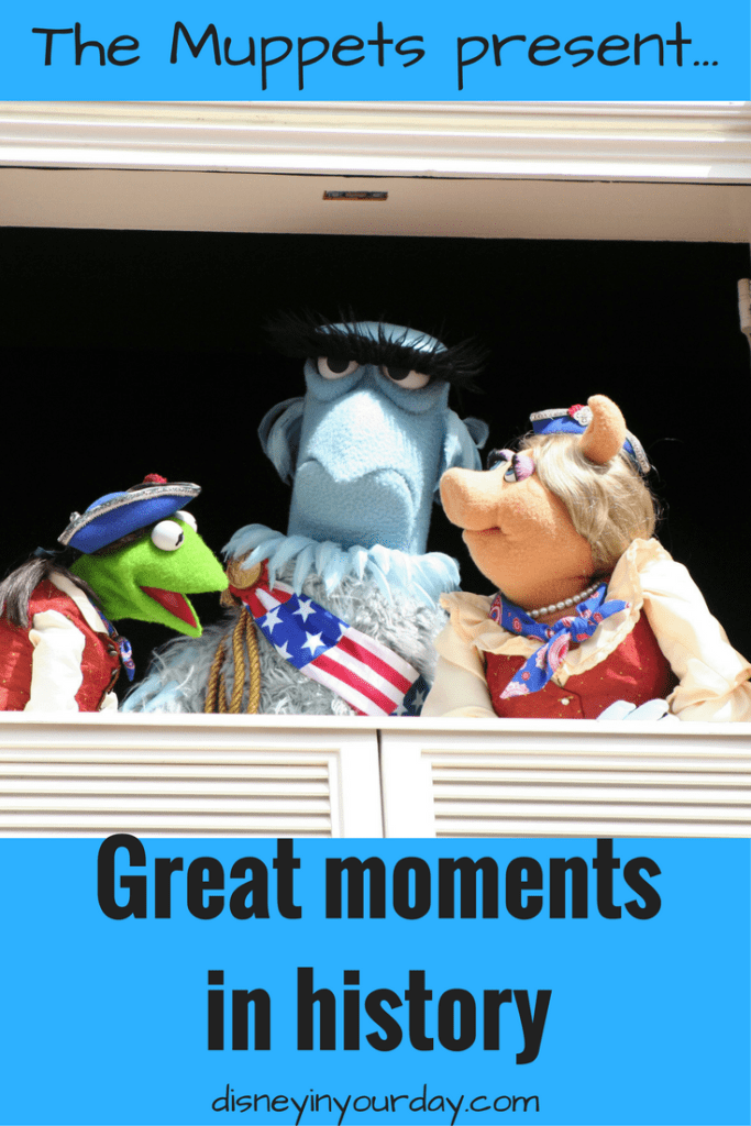 The Muppets present Great Moments in History
