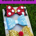 Etsy shop feature: Buns and Braids hair bows