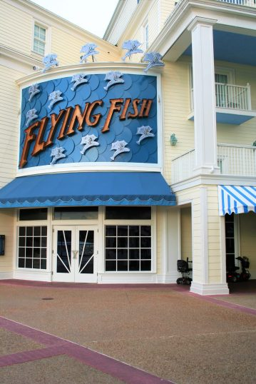Flying Fish Cafe - Disney in your Day