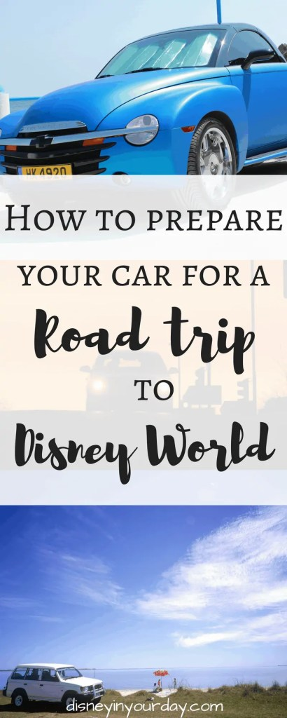 How to prepare for a long car trip to Disney