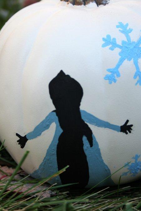 Frozen Pumpkin - Disney in your Day