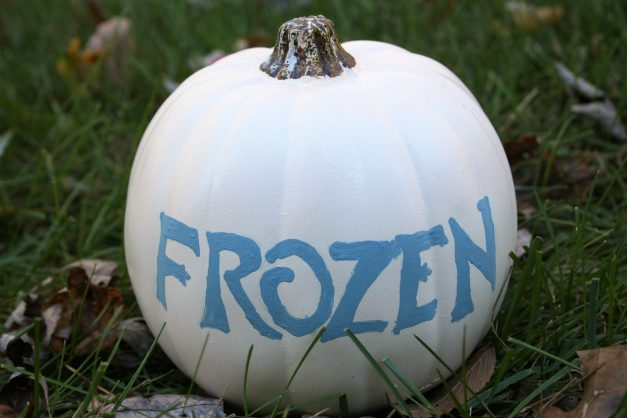 Frozen Pumpkin - Disney in your Day