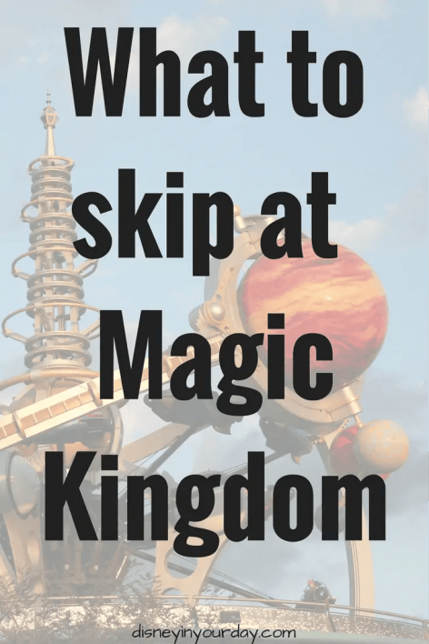 skip at Magic Kingdom - Disney in your Day