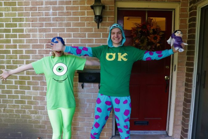 Monsters Inc. Halloween Costumes - Disney in your Day