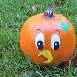 Orange Bird Pumpkin