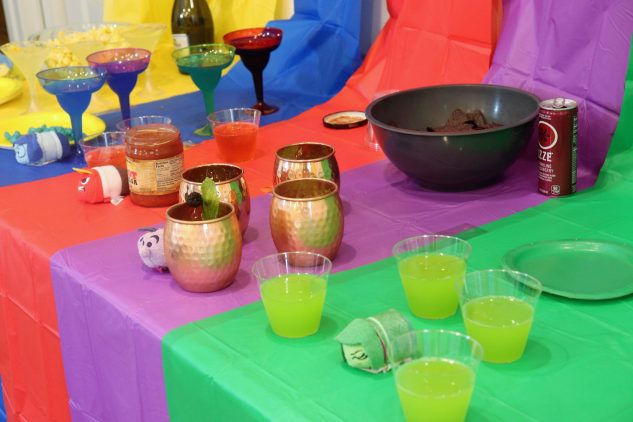 Inside Out birthday party - Disney in your Day