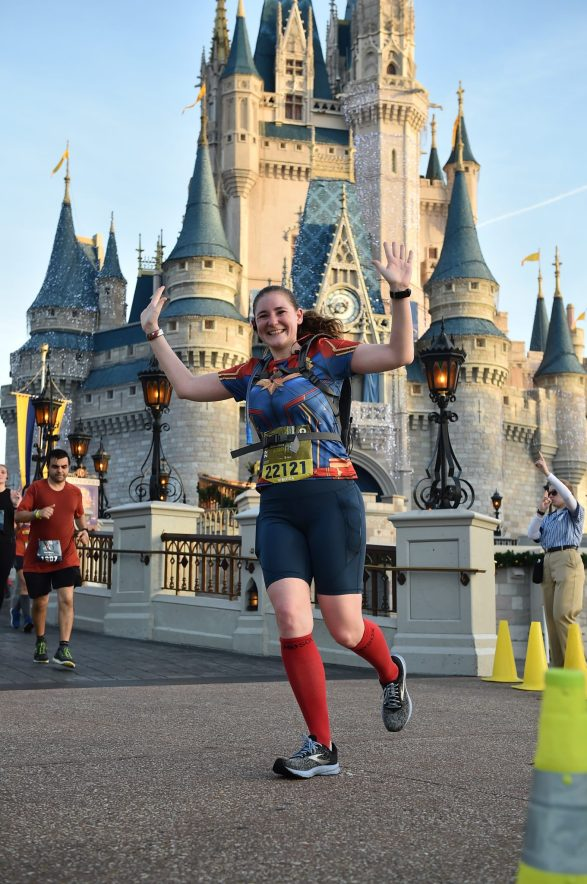 Captain Marvel running costume - Disney in your Day