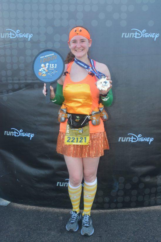 orange bird running costume - Disney in your Day