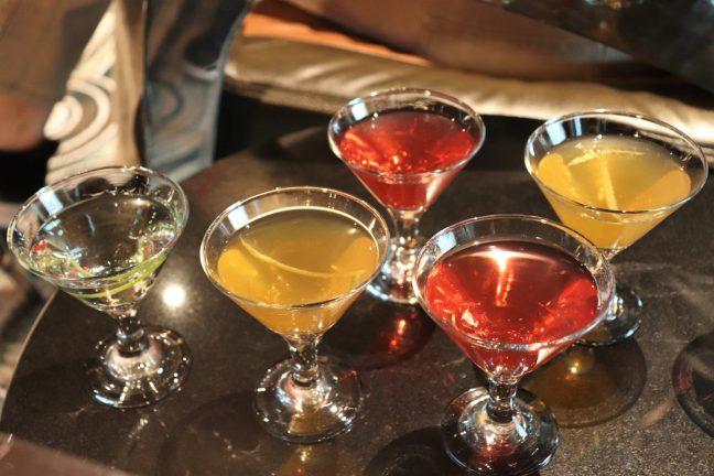 Martini tasting - Disney in your Day