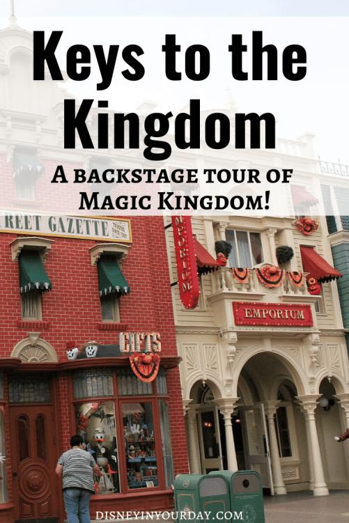Keys to the Kingdom - Disney in your Day
