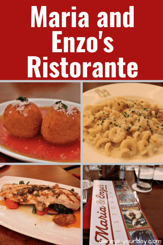 Maria and Enzo's Ristorante - Disney in your Day