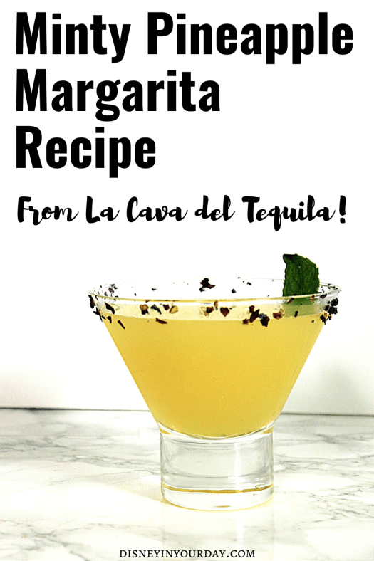 minty pineapple margarita recipe - Disney in your Day