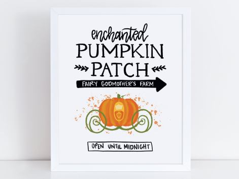 Disney fall printables - Disney in your Day