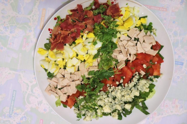Cobb salad recipe from the Hollywood Brown Derby