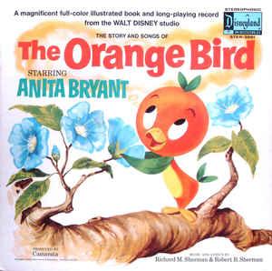Disney's orange bird album - Disney in your Day