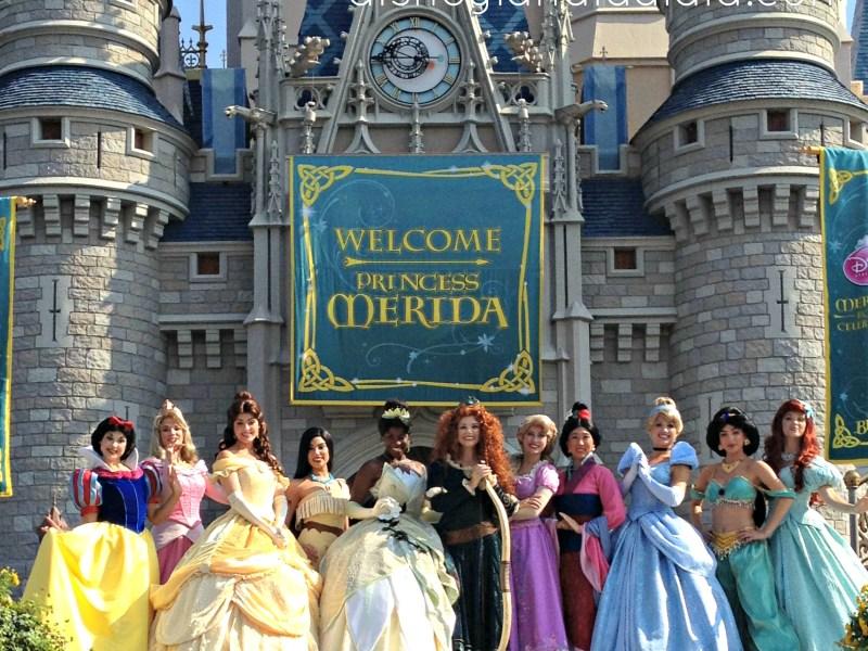 Presentación de las Princesas de Disney - disneylandiaaldia.com