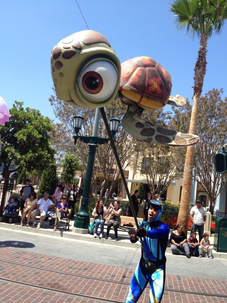 Pixar play parade squirt