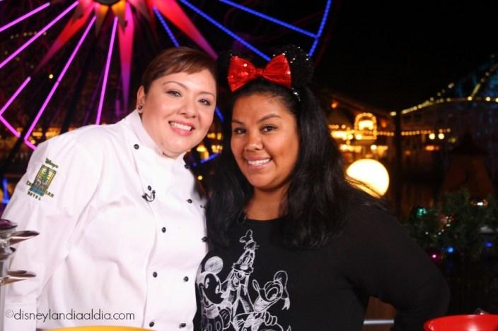 Liz y Chef Nubia