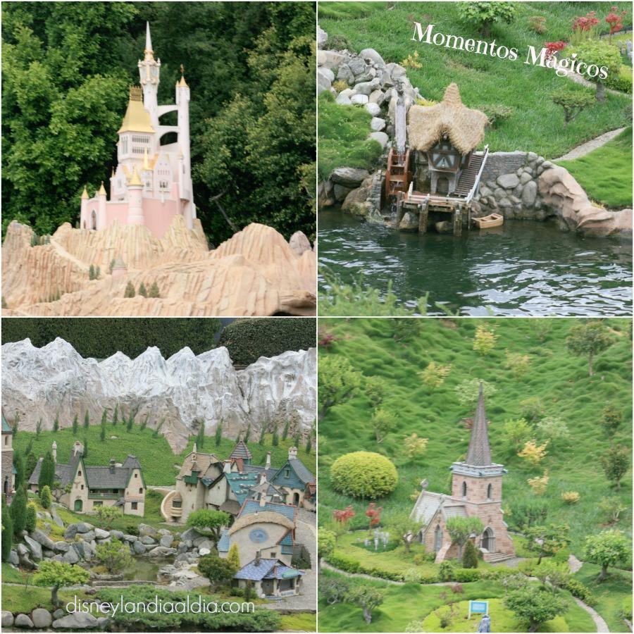 Las casas y pueblos en miniatura de Storybook Land