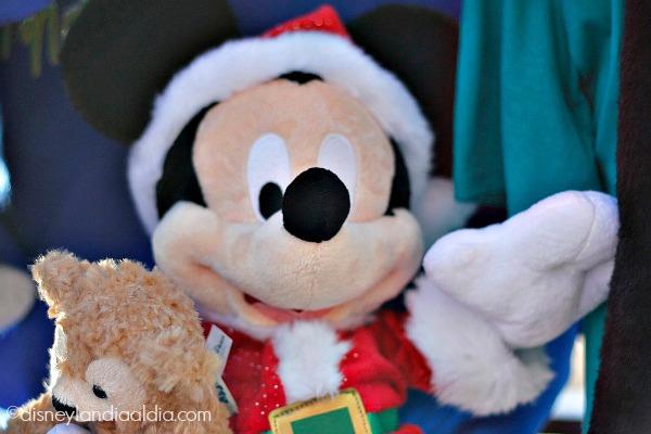 Muñeco de Peluche de Mickey Mouse vestido de Santa Claus