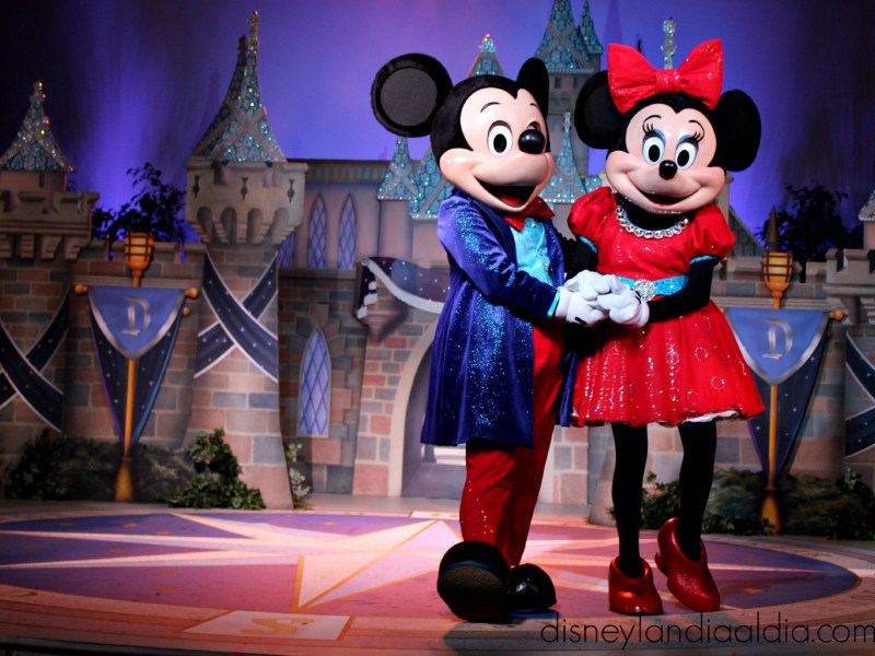Mickey Mouse en Disneylandia
