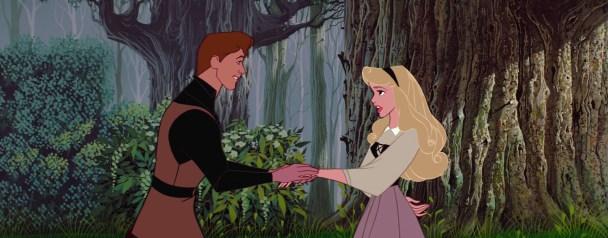 Princesa Aurora y Príncipe Felipe