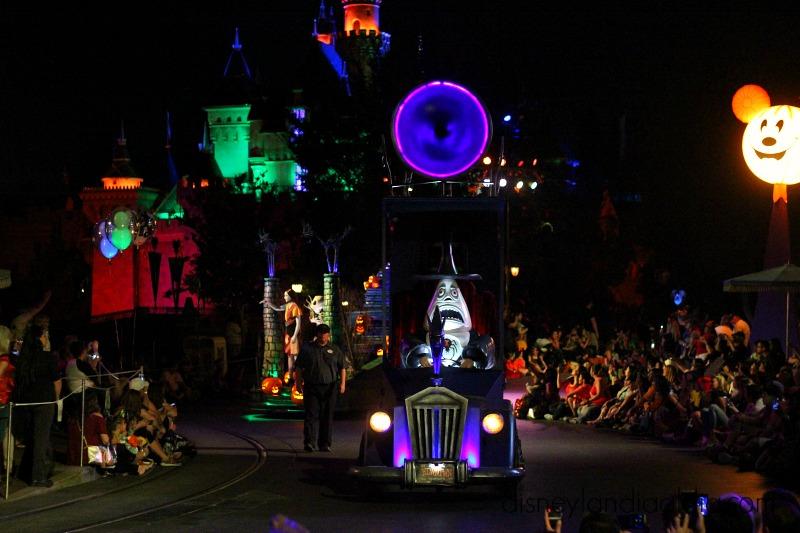 Halloweentown en Disneylandia