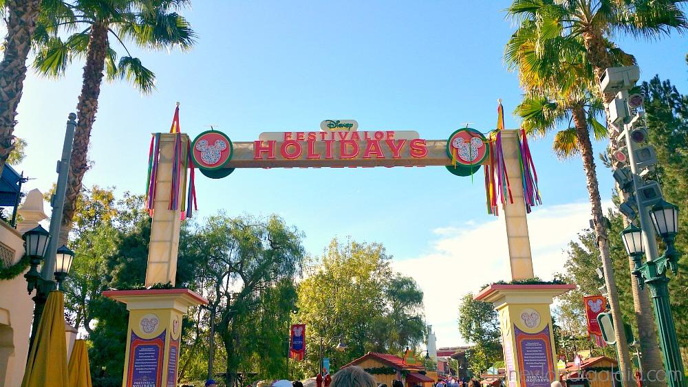 Festival of Holidays en Disney California Adventure Park