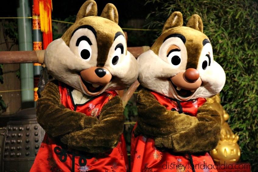 Celebración del Año Nuevo Lunar en Disney California Adventure