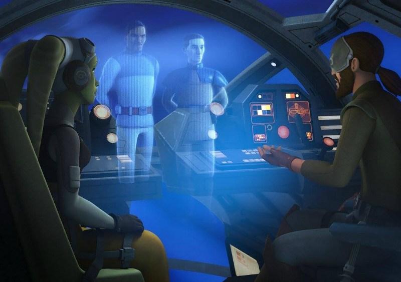 Escena de nuevo episodio de Star Wars Rebels - disneylandiaaldia.com