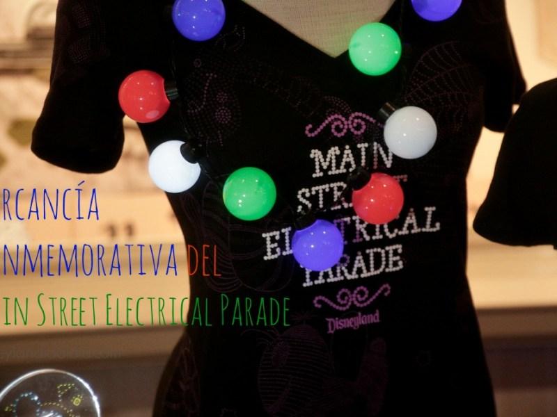 Mercancía Conmemorativa del Main Street Electrical Parade