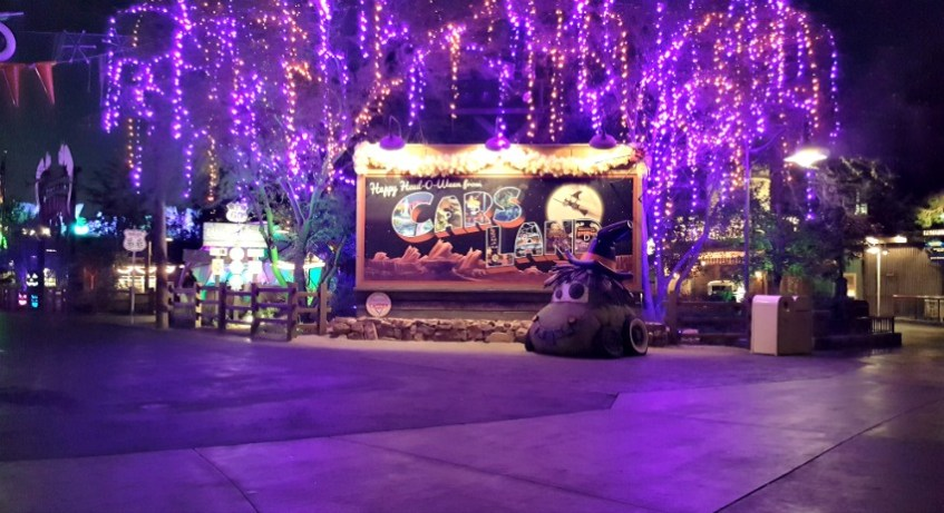 Datos Curiosos de Haul-O-Ween en Cars Land