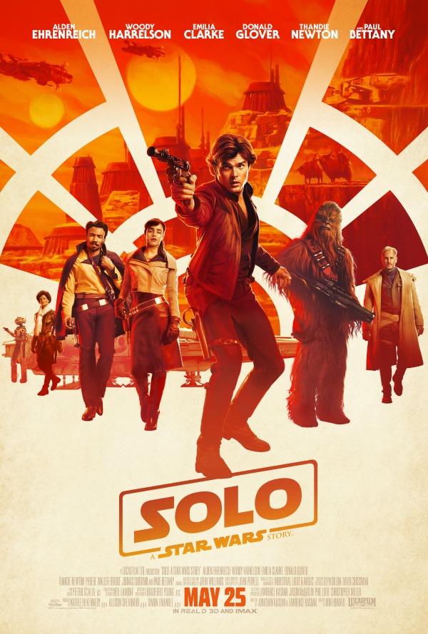 Poster de Solo: Una Historia de Star Wars