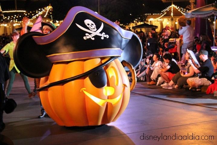 Fechas Fiesta de Halloween de Mickey 2018 foto del desfile