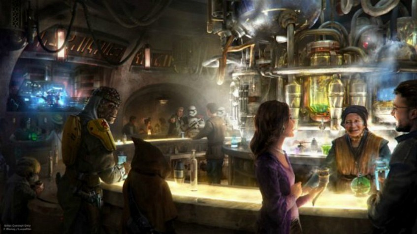 Una Cantina Extraterrestre en el Mundo de Star Wars en Disneylandia