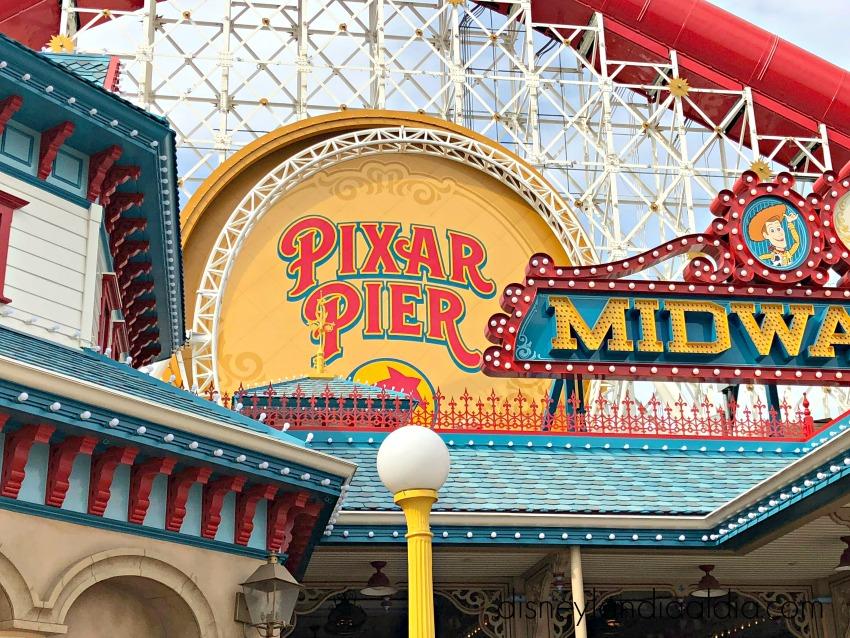 Pixar Pier en Disney California Adventure