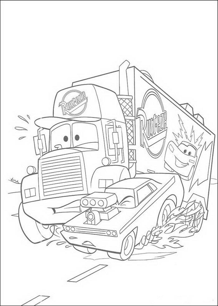 Cars Malvorlagen - DisneyMalvorlagen