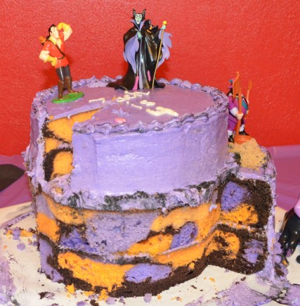 Villain Cake part 2 inside