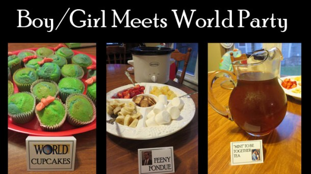 Girl Meets World party