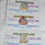Disney Dollars Envelopes