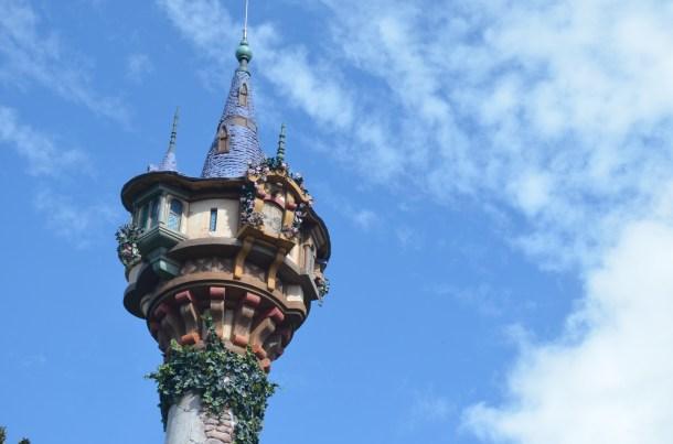 Rapunzels Tower close