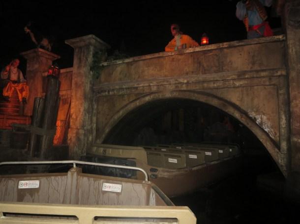 POTC boats and bridge